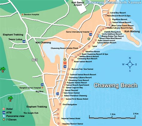 chaweng regent resort hotel map cheap chaweng resorts discount resorts in chaweng