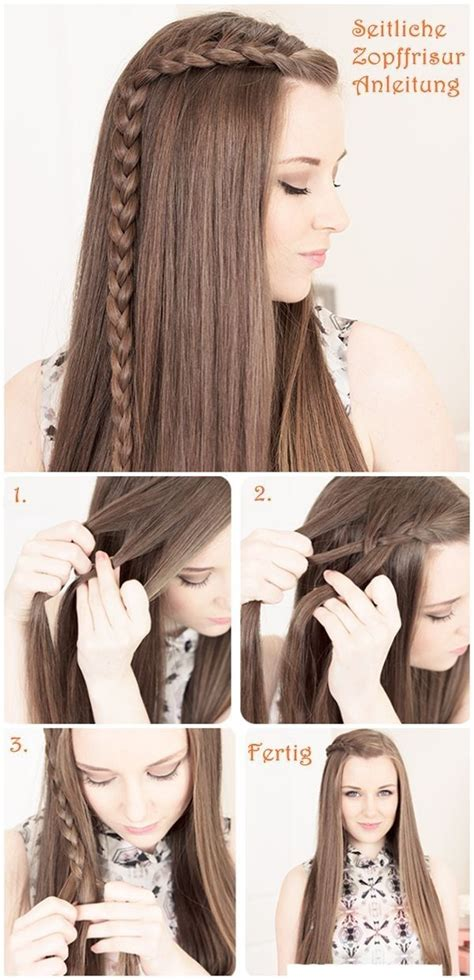 easy braided hairstyles for long hair step by step fashionable hairstyle tutorials for long thick hair