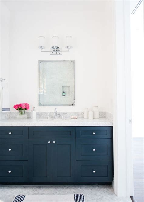 painted cabinets bathroom 25 best ideas about blue vanity on pinterest blue