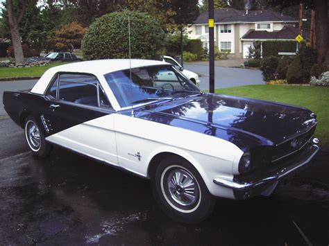 mustang blue and white blue and white 1966 ford mustang players special edition