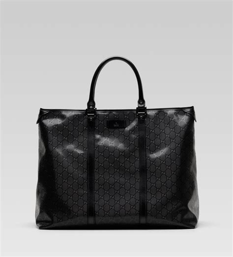 gucci black gg imprim 233 tote bag s bags