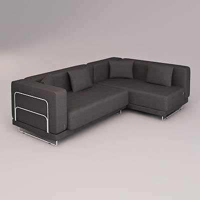 sofa tylösand 3d tylosand corner sofa