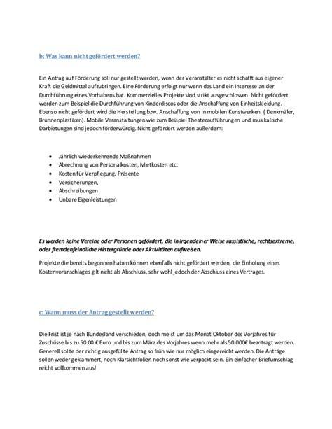 Kündigung Schreiben Muster Verein Leitfaden Zur Antragstellung Auf F 246 Rderung Gemein 252 Tzigen Projekte