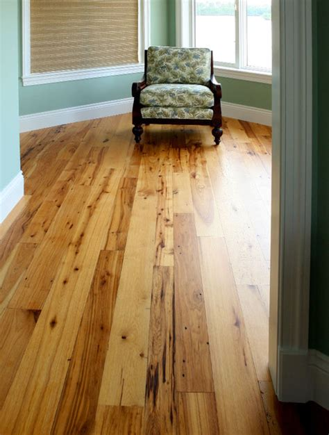 Br Wood Flooring by Reclaimed Hickory Hardwood Flooring Traditional