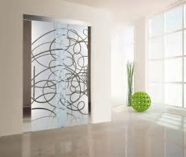 interior glass design double glass doors hung interior decoration and design