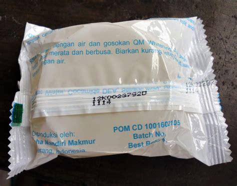 sabun qm whitening original bpom pusat stokis agen stokis surabaya jakarta indonesia