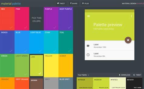 material color マテリアルデザインのためのカラーツールまとめ 9 useful tools for creating