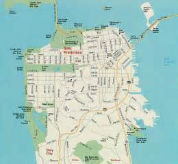 san francisco map free printable maps