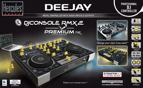 console dj photo hercules dj console rmx 2 premium tr hercules dj