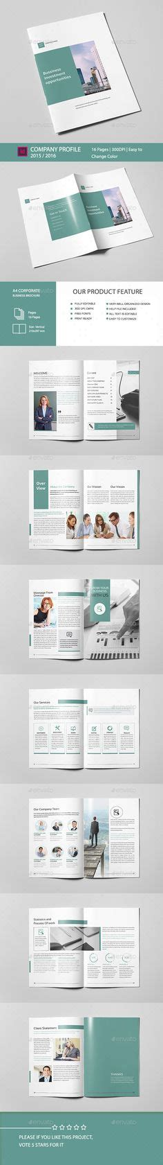 company profile template indesign college brochure template 16 pages design