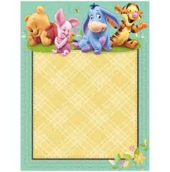 winnie the pooh baby shower invitations templates free theruntime