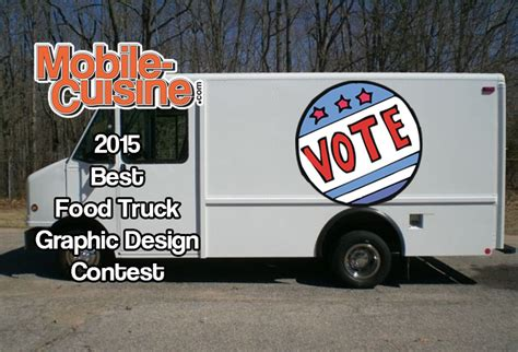graphic design food truck vote now 2015 best food truck graphic design contest