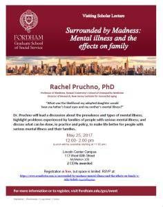 Fordham Mba Review by Fordham Visiting Scholar Lecture 5 25 17