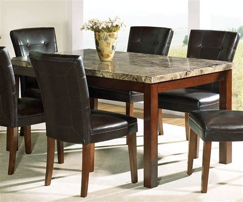 marble top dining room table marceladick com