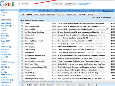 Search For Unread Emails In Outlook 1 Unread Mail Inbox Search Results Dunia Photo