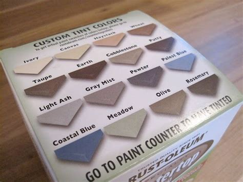 rustoleum kitchen countertop paint colors sample color