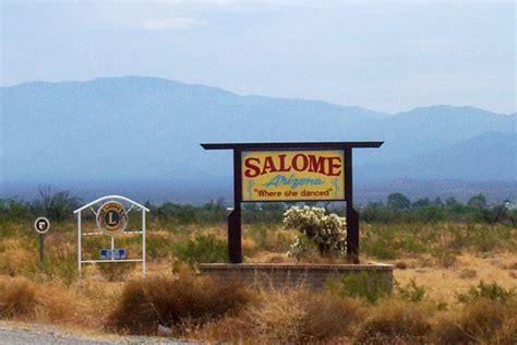 salome texas map salome az