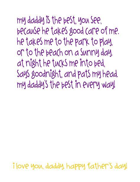 Kids Craft For Halloween - best daddy poem craft idea