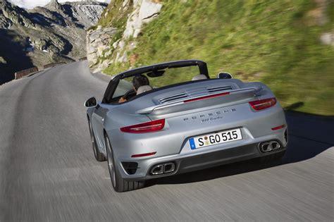 porsche cabriolet 2014 2014 porsche 911 turbo turbo s cabriolet revealed