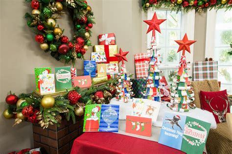 diy recycled christmas card tree hallmark channel