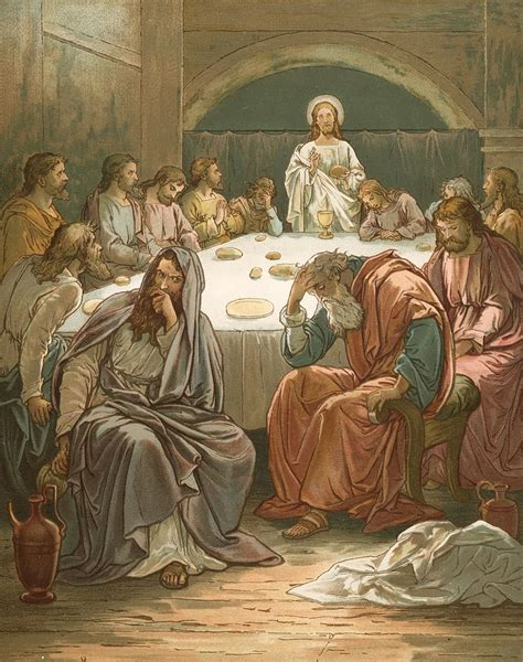 The Judas Sheep Large Print 16pt last supper suppers and on