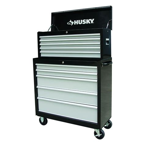 Husky 36 In 12 Drawer Tool Chest And Cabinet Combo In by Husky 36 In 10 Drawers Chest And Cabinet Combo Hde3655co