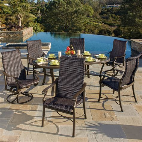 Victory Patio Furniture Montreux Woven Woven Outdoor Furniture Tropitone Tropitone Chairs Home Victory