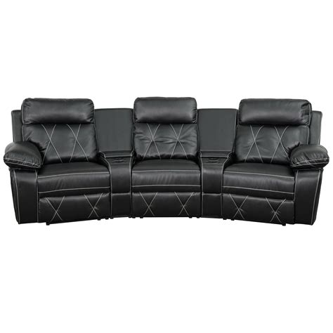 flash furniture real comfort series home theater recliner