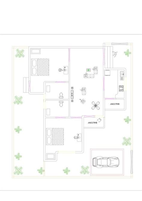 Floorplan App my design for 2bhk flats amp 2bhk specious row house