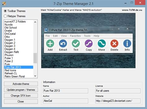 themes zip easily theme winrar and 7 zip for a total visual overhaul