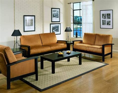 simple living room furniture simple living room wood furniture design with wall mounted