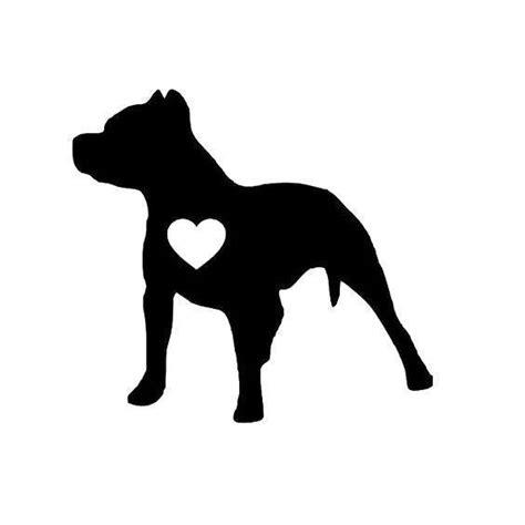 black pitbull tattoo design