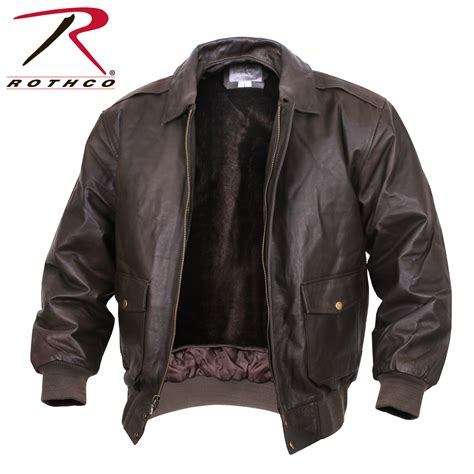 Jaket Bomber Aubis Brown Waterproof Bomber Jaket 1 rothco classic a 2 leather flight jacket