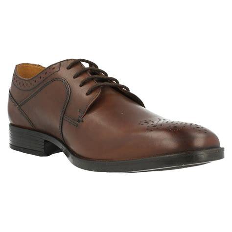 Clarck Semi Formal mens clarks semi brogue formal shoes kalden edge ebay