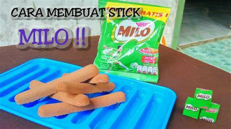 Milo Stik cara membuat stick milo atau milo beku mudah banget