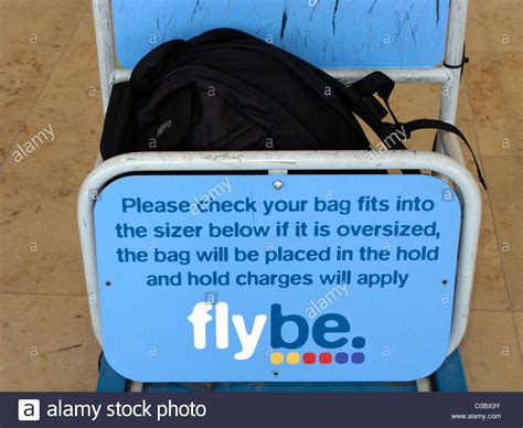 flybe cabin oversized bag in flybe cabin baggage size at airport