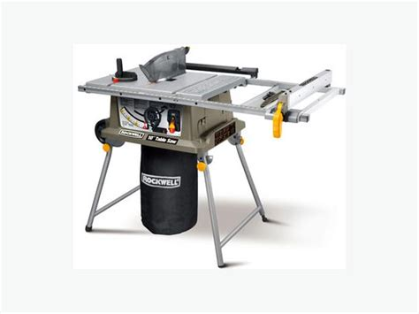 rockwell portable table saw with laser brand new central