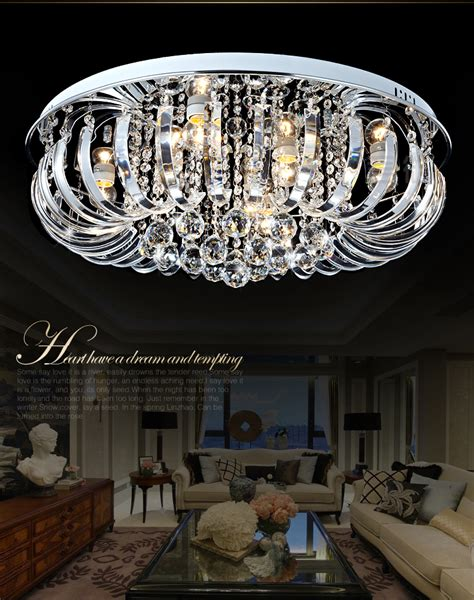 superior 72 Inch Kitchen Island #7: led-crystal-ceiling-light-living-room-round-ceiling-lamp-Large-Luxury-Crystal-Ceiling-Light-led-modern.jpg