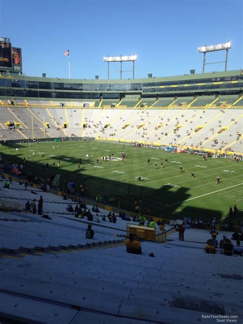 lambeau field section 132 lambeau field section 132 rateyourseats com