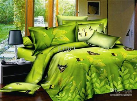 green and yellow comforter green yellow comforter bedding set butterfly queen size