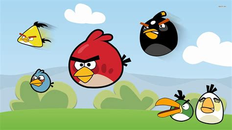 wallpaper with game birds angry birds wallpapers wallpaper cave