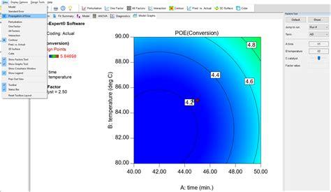 design expert response surface tutorial response surface pt 3 design expert documentation