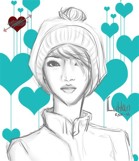 sketch book exo luhan exo m sketch by deilover129 on deviantart