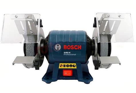 bench grinder bosch benchtop grinding machine bosch gbg 6