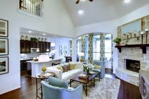 Ranch Style Home Interior new model homes in austin are in full bloom