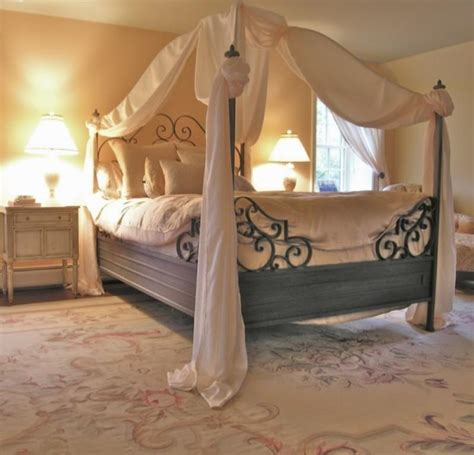 Canopy Bed Curtain Ideas | 15 amazing canopy bed curtains design ideas rilane