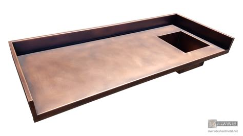 copper bar tops for sale copper counter top integrated sink backsplash and a