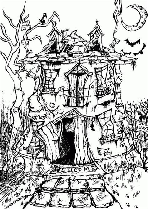 hard halloween coloring pages for adults hard halloween coloring pages for adults az coloring pages