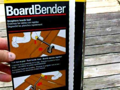 Bor Stanley part 1 stanley board bender straighten installing deck board unboxing