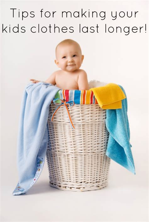 baby laundry tips for your clothes last longer